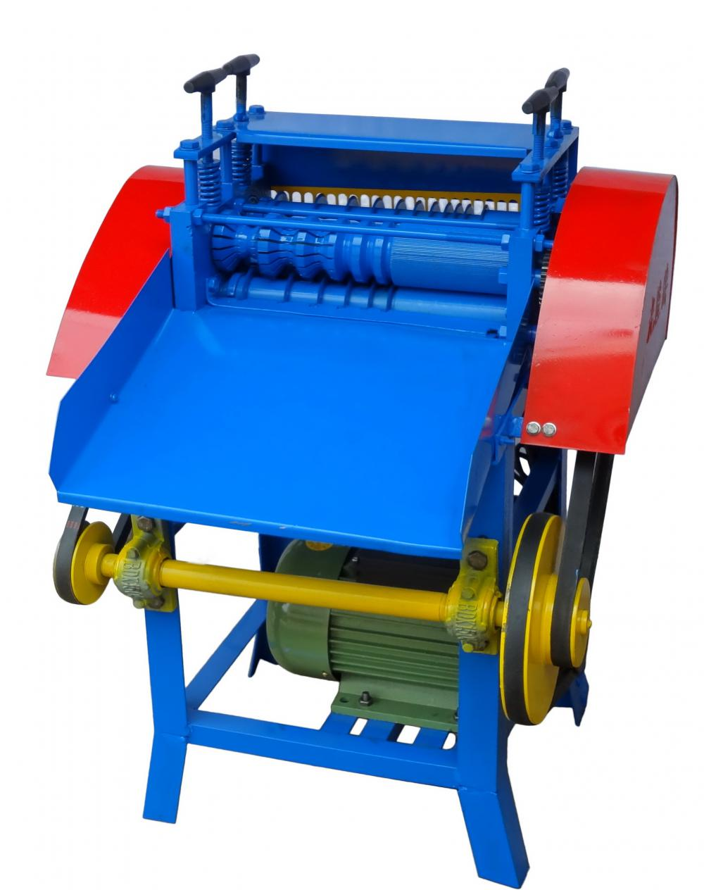 portable waste wire peeling machine