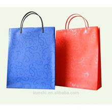 Waterproof paper packaging bag