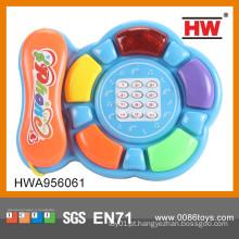 Novo Item Brinquedos educativos educativos do telefone engraçado do bebê