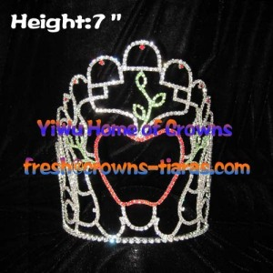 Fall Season Pageant Crowns In Apple Shaped