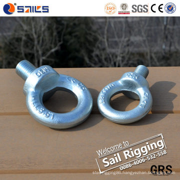 Forging Galvanized Fastener Eye Bolt