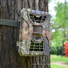 Versteckte tierische Überwachung HD wasserdichte Zeitraffer Solar Sicherheit Infrarot-Nachtsichtkamera