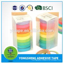 Wholesale fashion paper tape decoration masking tape for stationery