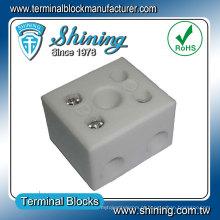 Conector de bloco de terminais de cerâmica cerâmico resistente ao calor