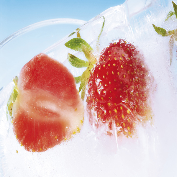 Whole Frozen Strawberry