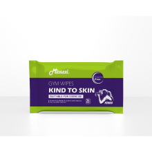 Gym Wipes Cleansing Honeysuckle Extract