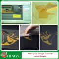 Qingyi A4 feuille glitter transfert de chaleur vinyle