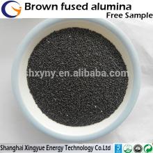 Premier / deuxième / troisième grade abrasif / réfractaire calciné alumine fondue brun alumine fusionnée / corindon brun
