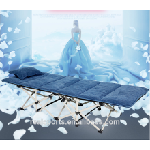 Portable folding bed and outdoor camping bed,Office simple folding set bed