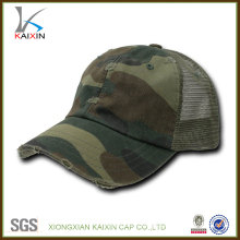 Fashion custom mesh camo trucker hat