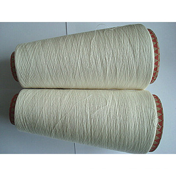 Combed Cotton Jute Viscose Fiber Blenched Yarn Ne32/1