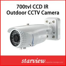 700tvl CCD Vari-Focal Lente IR IP66 IR CCTV Cámara