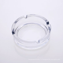 Cendrier de vente en gros de cristal en gros de 10,5 cm