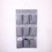 Soft Non Woven Fabric Wall Organizer Storage Hanging Over Door Organizer with Pockets Storage Bag
