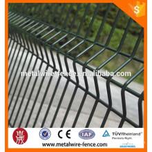Высококачественная дешевая стальная железная дорога, забор из проволочной сетки, сетка из ПВХ с покрытием Rheinland