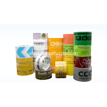 Carton packing printed tape
