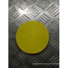 Boca ancha, molde de tapa amarilla