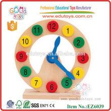 Jouets en bois Clock Preschool