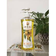 500ml Pet Plastic Shampoo Oil Bottle with Lotion Dispenser