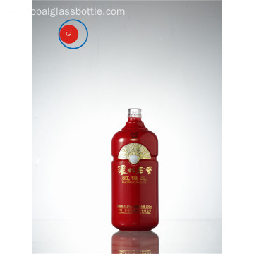 Botella clásica china del licor de Luzhou Lao Jiao