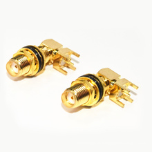 SMA-KWE eau (50 ohms) SMA incurvé siège rallongement étanche coaxial câble rf connecteurs