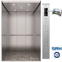 Elevador pequeno da sala da máquina do sistema de controlo de Srh Vvvf