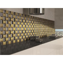 Interior Tile Stainless Mosaic Tile on Promotion (AJL-AJ27)