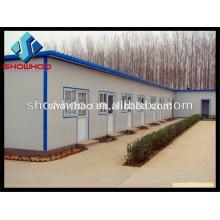 casa modular de estrutura de aço de baixo custo