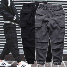 Pantalones deportivos negro / gris Pantalones deportivos gruesos