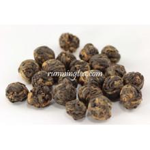 Reiner schwarzer Perle Tee