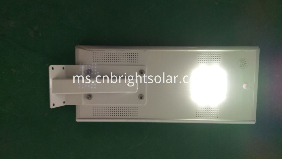 12W integrated solar street light