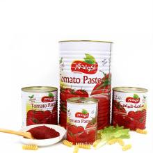 tinned tomato paste factory good quality