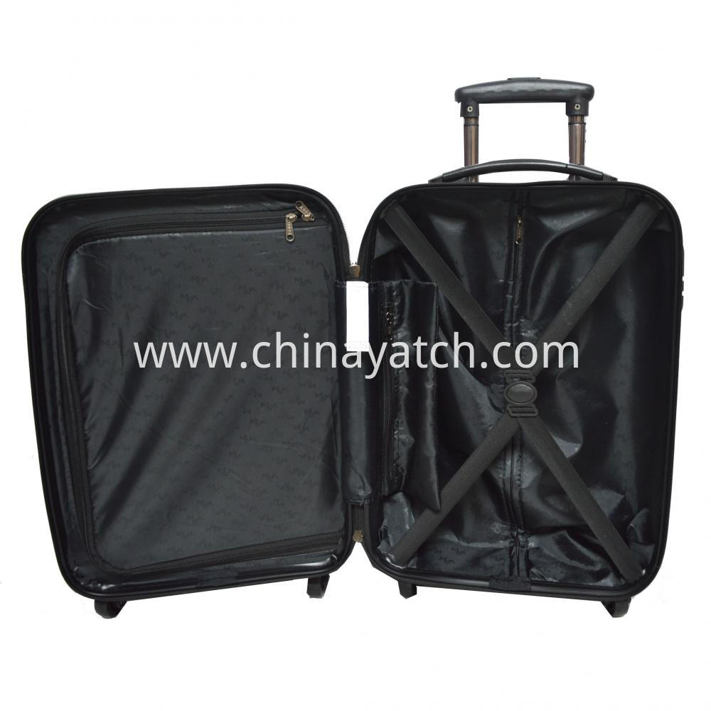 ABS&PC Printing Luggage Set with Gun Color