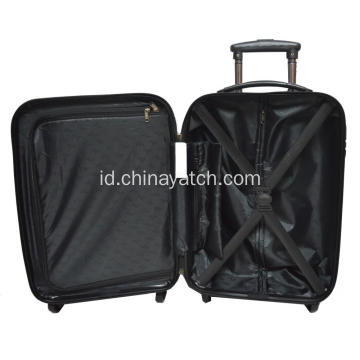 ABS & PC Printing Luggage Set Trolley Aluminium
