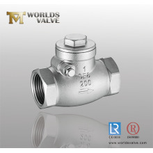 CF8m Threaded End Check Valve