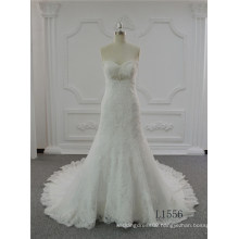 Sweetheart Wedding Dress 2017 Lace Plus Size Wedding Dress Mermaid