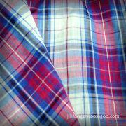 C100 / Combed / Yarn Dyed Shirting Fabric