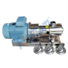 Bomba de homogenizador de acero inoxidable con CE aprobado