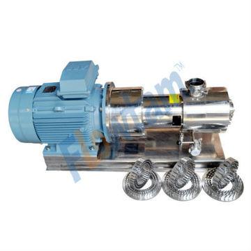 Pompe homogénéisateur en acier inoxydable avec homologation CE