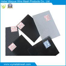 Malha de arame de aço inoxidável revestida de PVC