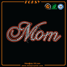 Mom heat transfer rhinestones grossist