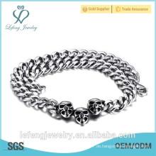 Großhandel billige Schädel Halskette Kette von 316l Edelstahl