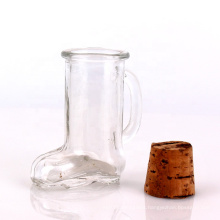 1.3oz mini glass boot shots for cocktail whiskey beer