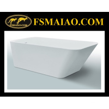 Solid Surface Rectangle Freestanding Bathtub (BS8634)