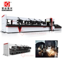 Fiber CNC Tube Laser Cutting Machine for Metal Steel Pipe