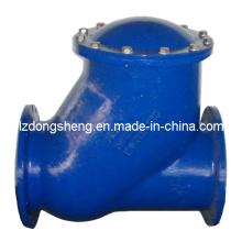 Válvula de retenção tipo flange de flutuação de ferro fundido