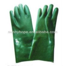PVC sandig fertige Handschuhe