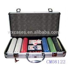 Nova chegada 300 cartão caso fabricante de alumínio