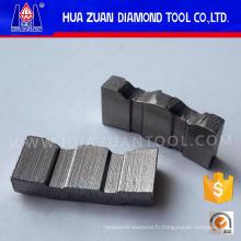 Segment de foret de noyau de diamant pour la construction