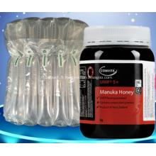 Emballage de coussin d'air pour bouteilles de miel